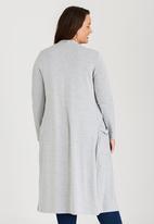 edit Plus - Longer Length Cardigan Grey