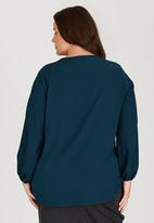 edit Plus - Basic Pocket Tunic Green
