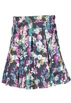 See-Saw - Pleated Skirt Multi-colour