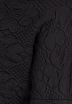 POP CANDY - Fleece Top  Black
