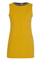 POP CANDY - Mustard  Dress Yellow