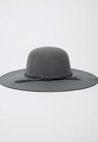 Dazzle - Slouchy Felt Hat Grey