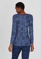 Maya Prass - Ariel T-shirt Mid Blue