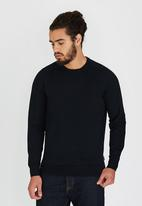 Ben Sherman - Crew Neck Knitwear Black