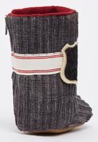 Myang - Charcoal Cord Boots Dark Grey