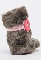 Myang - Fur Boots Grey