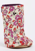 Myang - Floral Cord   Boots Multi-colour