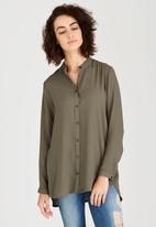 c(inch) - Basic Shirt Khaki Green