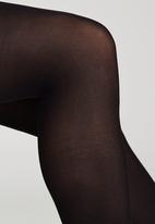 Cameo - Footless Tights Black