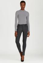 G Couture - Cindy Ponte Leggings Grey