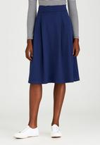 STYLE REPUBLIC - Fit & Flare Skirt Mid Blue