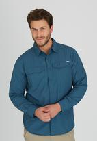 Columbia - Silver Ridge Long Sleeve Shirt Dark Blue
