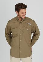 Columbia - Bonehead Long Sleeve Shirt Khaki Green