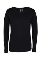 Silent Theory - Long Sleeve Pigment Tail T-Shirt Black