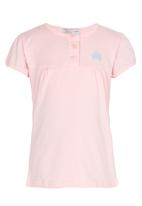 POP CANDY - Top with Front Yoke Pale Pink