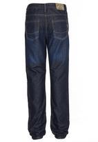 SOVIET - Spader Denim Jeans Dark Blue
