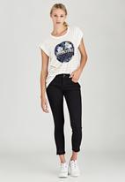 Billabong  - Peddler Crop Jeans Black