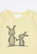 Luke & Lola - Printed Long Sleeve Tee Yellow