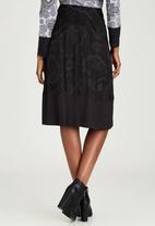 Maya Prass - Sizani Swing Skirt Black