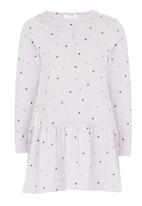 See-Saw - Drop Waist Dress Pale Purple