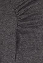 Lizzy - Moon Mist Dress Grey Melange