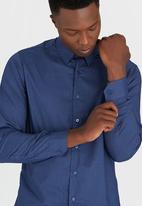 Lorenzini - Long Sleeve Shirt Navy