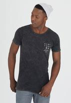 Silent Theory - Kana Tee Dark Grey
