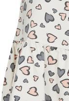 See-Saw - Drop Waist Dress Multi-colour