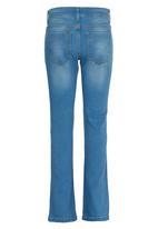 Rebel Republic - Bootleg Jeans Mid Blue