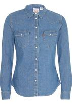 Levi's® - Tailored Classic Western Shirt Mid Blue