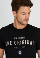 Ben Sherman - Original Tee Black