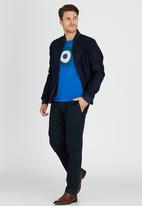 Ben Sherman - Target Tee Mid Blue