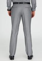 Brooksfield - Tailored Fit Trouser Silver