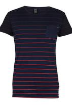 Silent Theory - Incline Tee Navy