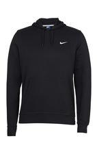 Nike - Nike Club Swoosh Hoody Black and White