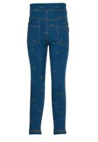 POP CANDY - Blue Jeggings  Mid Blue