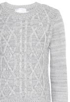 See-Saw - Cable Knit Grey