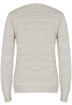 Rebel Republic - Cable Knit Jersey Stone