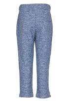 POP CANDY - Fire Engine Track Pants Mid Blue