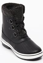 Tom Tom - Lace-up Ankle Boots Black