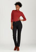 edit - Pinched Seam Trousers Black