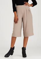 STYLE REPUBLIC - Wide Leg Culottes Beige
