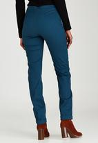 edit - Pinched Seam Trousers Turquoise