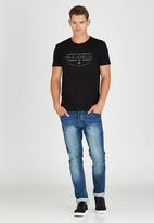 Polo Jeans Co. - Printed Slub T-Shirt Black