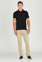 POLO - Short Sleeve Classic Golfer Black