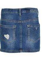 GUESS - Denim Skirt Mid Blue