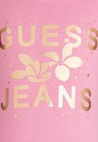 GUESS - Guess Jeans Tee Pale Pink