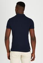 POLO - Short Sleeve Classic Golfer Navy