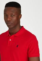POLO - Short Sleeve Classic Golfer Red