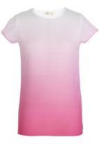 Soobe - Cap Sleeve T-shirt Pale Purple